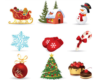 Funny Christmas Icons
