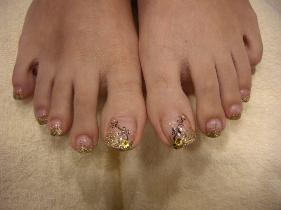 Gel Toe Nails