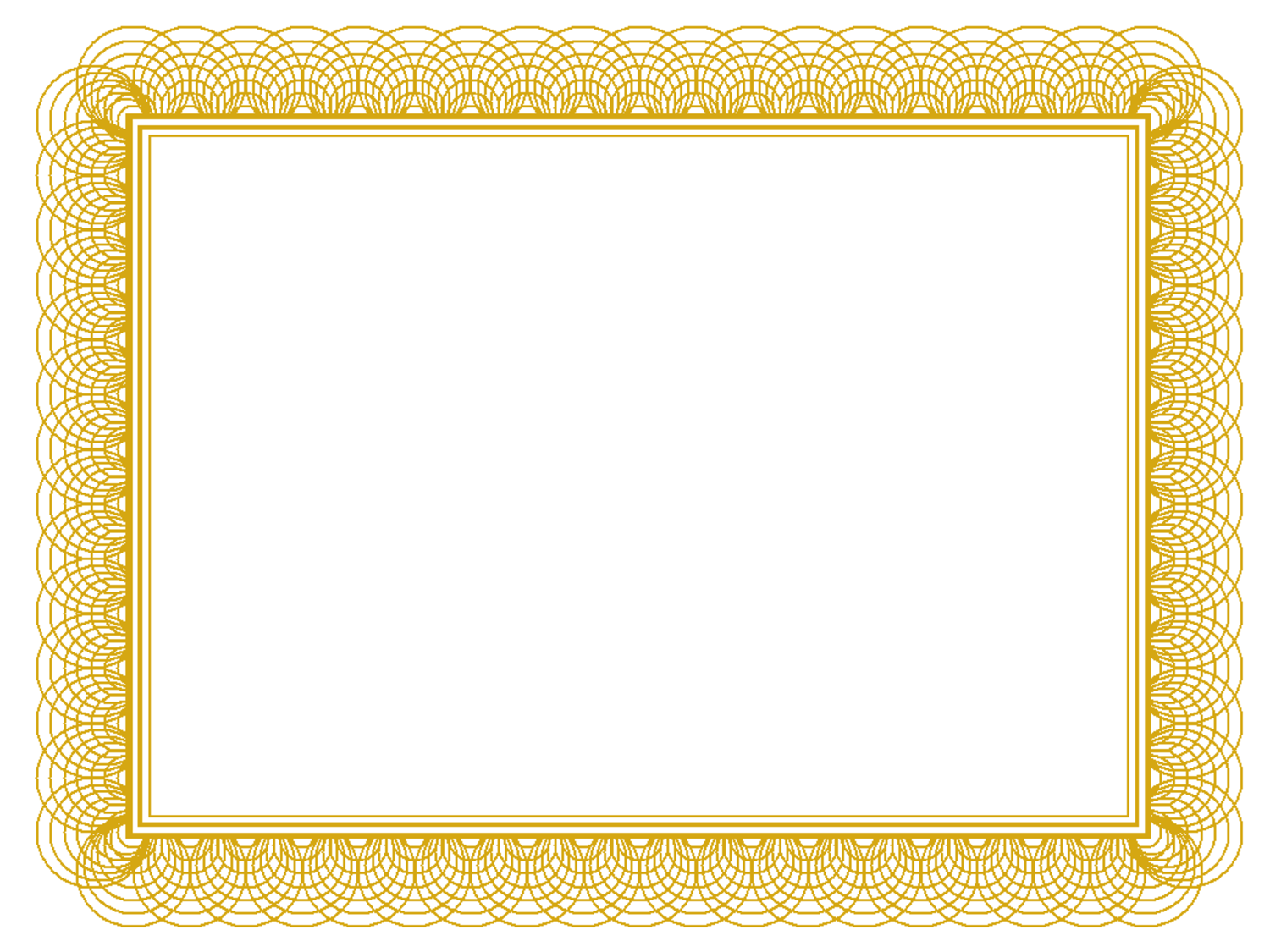 9 Gold Certificate Borders Vector Images
