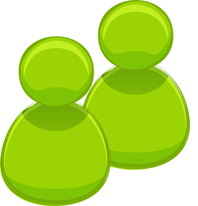 Green People Icon Clip Art