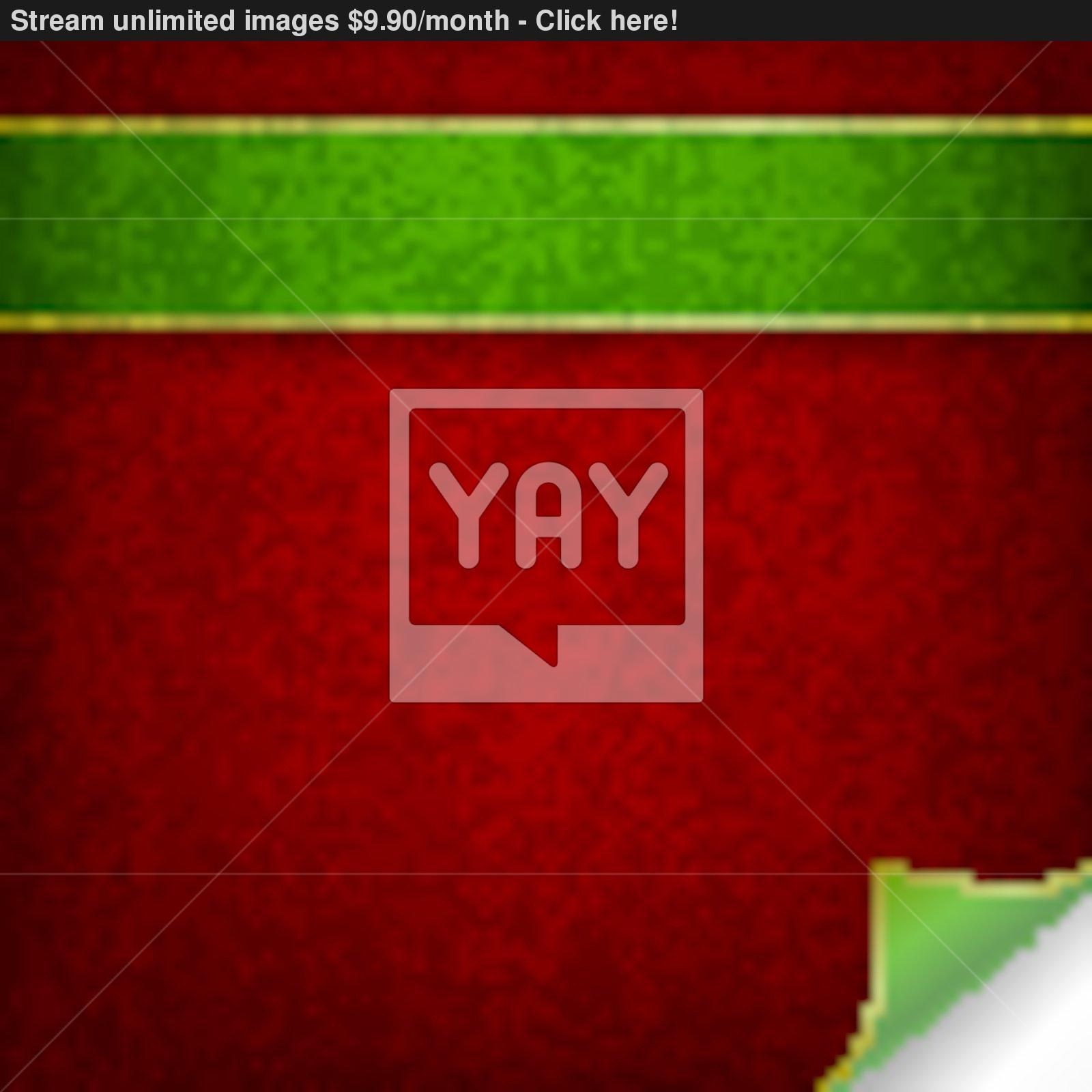 Green Ribbons Vector