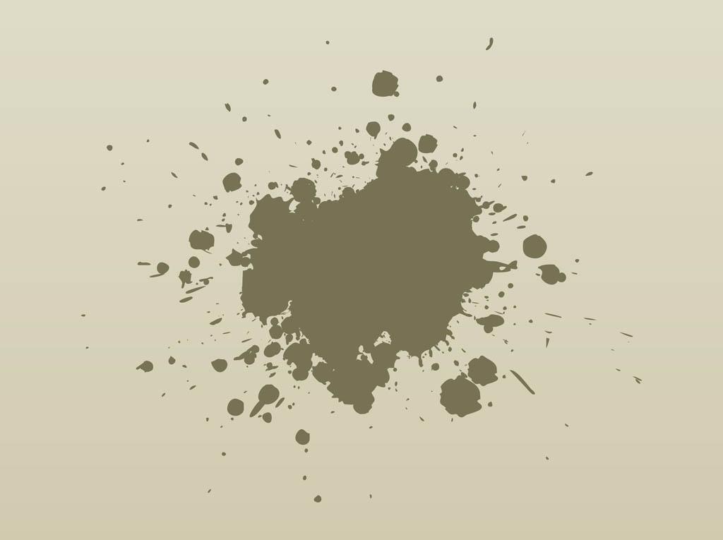 13 Vector Grunge Splash Images