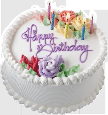 12 Happy Birthday Cake PSD Images