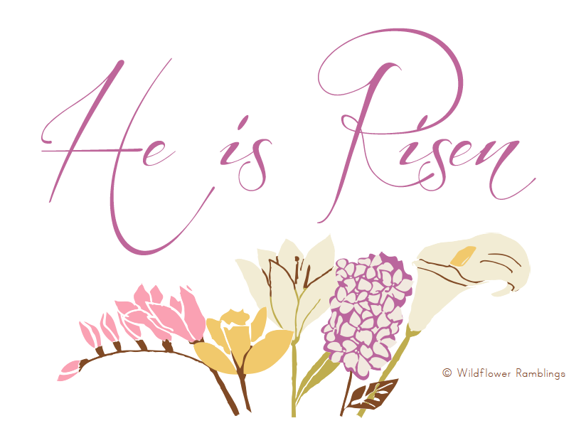 He Is Risen Happy Easter Images Free