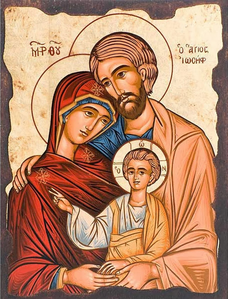 10 Holy Family Religious Icons Images