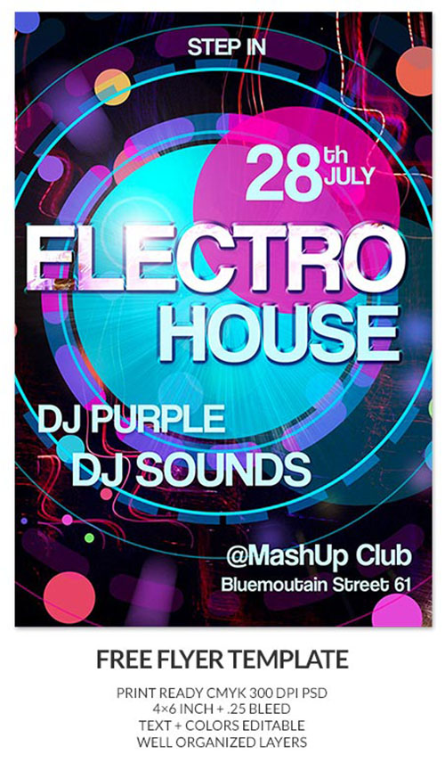 House Party Flyer Templates Free