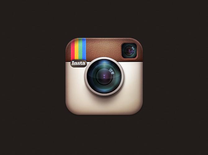 14 transparent instagram logo psd images transparent