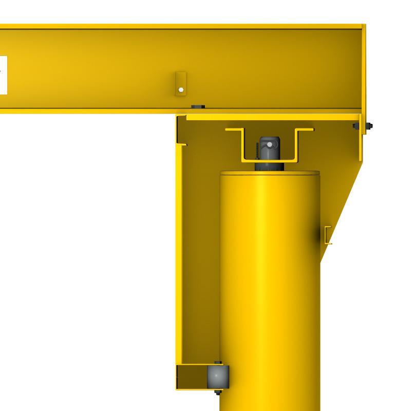 Jib Cranes Design : Jib crane design drawings images free standing