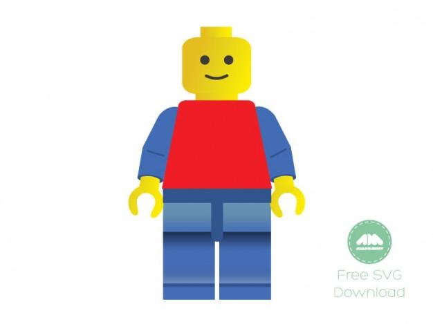 LEGO Man Vector Art