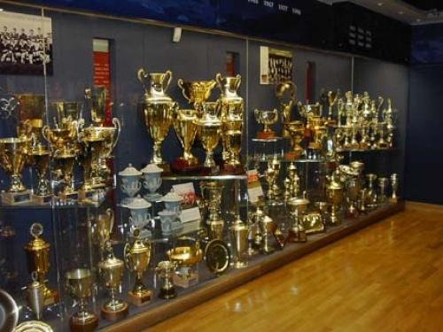 Manchester United Trophy Case