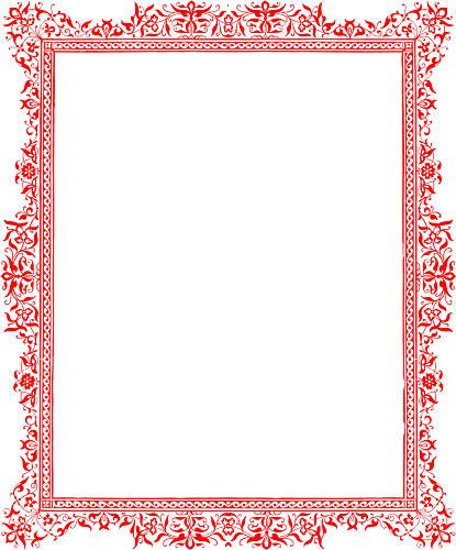 Microsoft Word Document Page Border