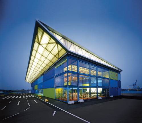 Modern Industrial Building Design