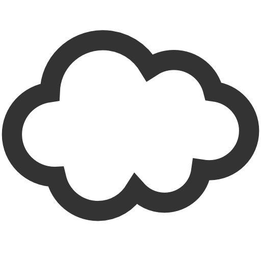 9 Red Cloud Icon Images