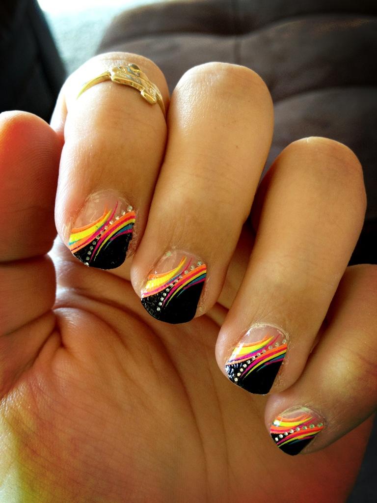 New Year's Nail Design Pinterest