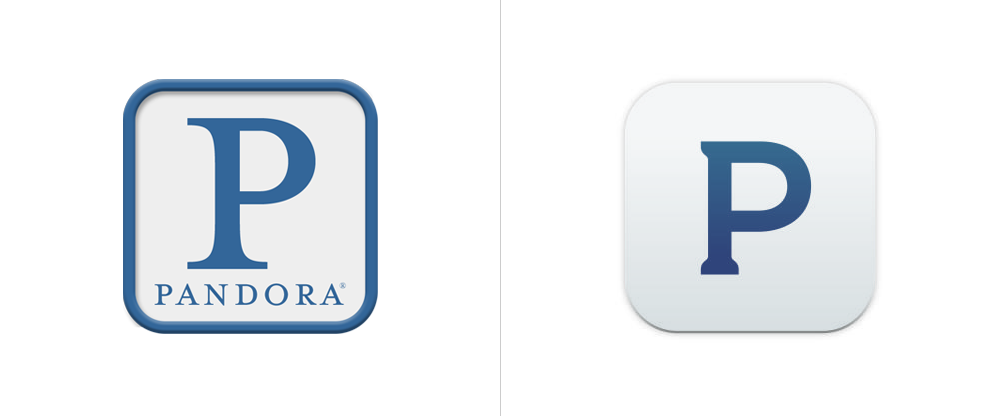 17 Pandora Internet Radio Logo Icon Images
