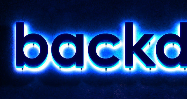 11 Neon Text Effect PSD Images
