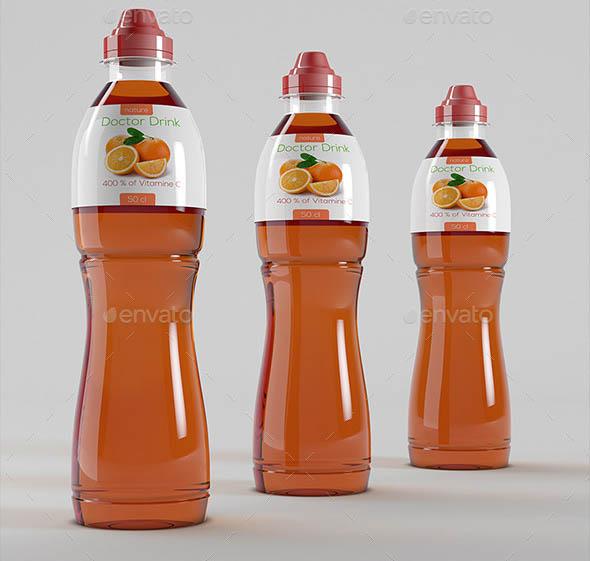 Plastic Bottles Energy Drinks