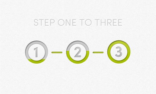 Progress Bar with Steps