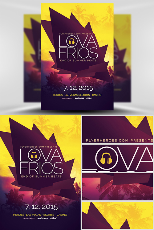 PSD Flyer Templates