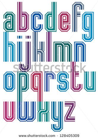 Retro Fonts 70s