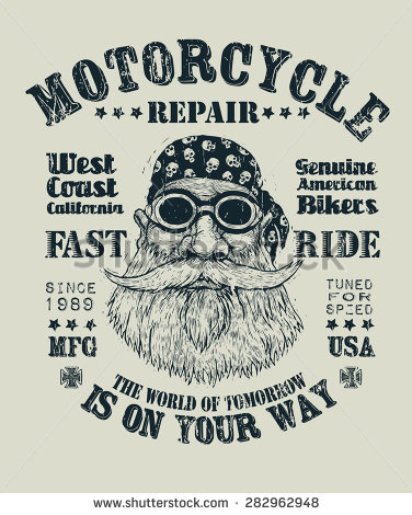 Retro Motorcycle Design