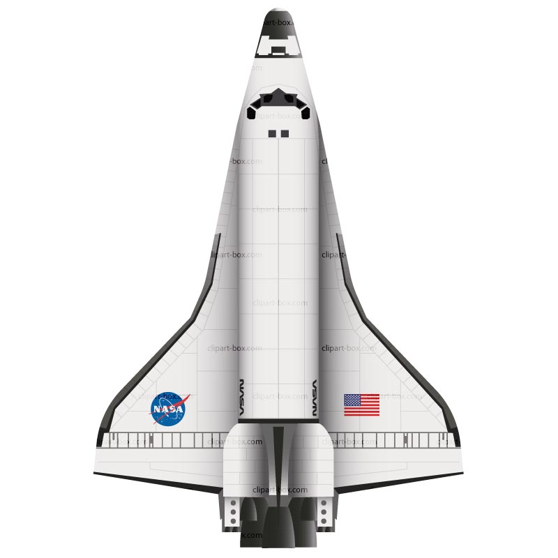 17 Shuttle Vector Art Images