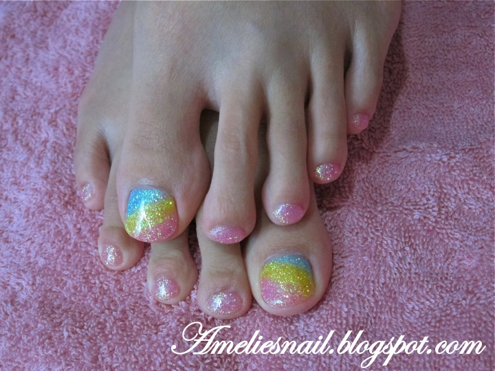 Summer Toe Nail Designs Gel