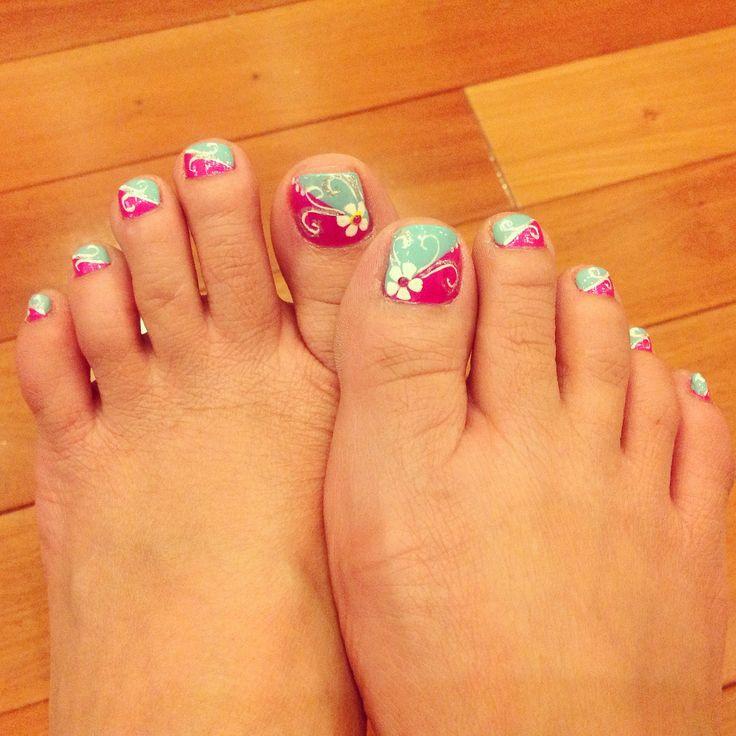 Summer Toe Nails Design 2014