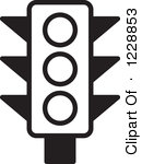 15 Traffic Light Vector Black And White Images