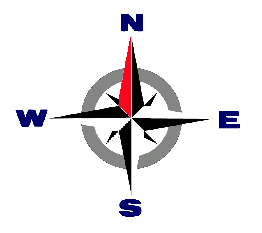 5 north rustic compass icon png images