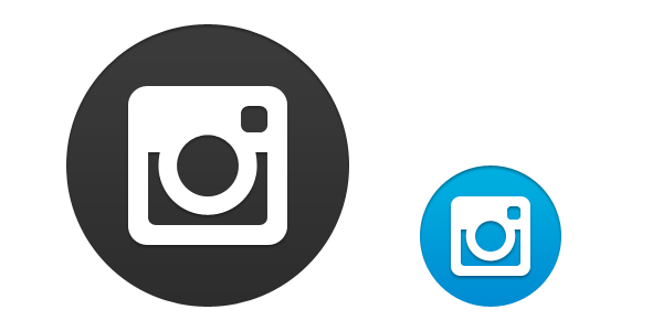 14 Transparent Instagram Logo PSD Images