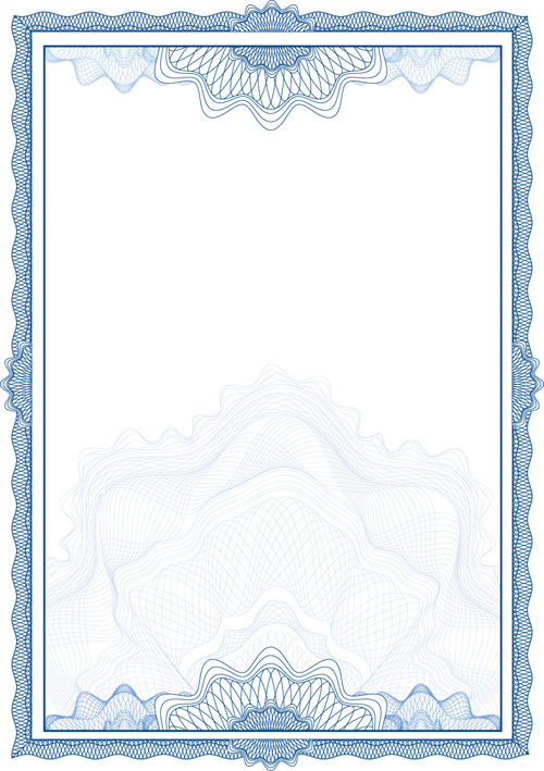 certificate frame template - 15 free vector certificate frame images certificate