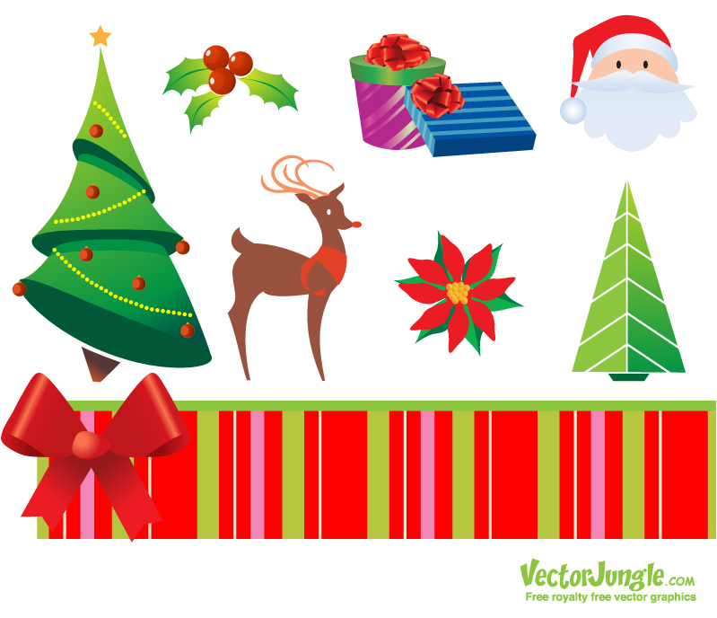 Vector Christmas Icons