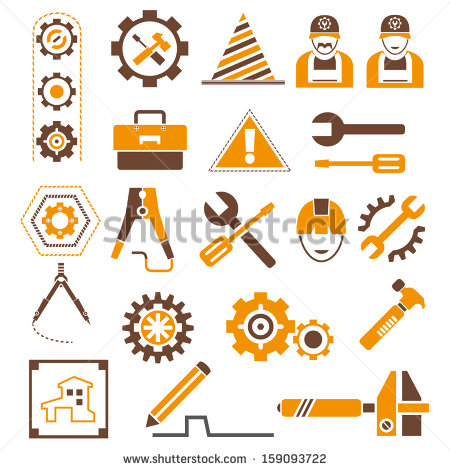 Vector Engineering Icons Free