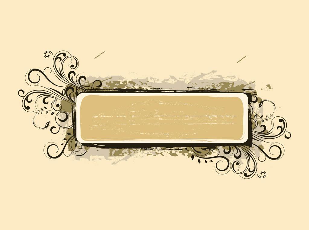 Vector Grunge Banner Clip Art