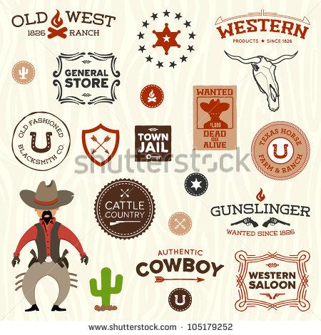 Vintage Western Graphic Design