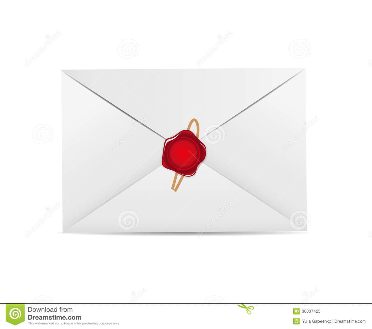 White Envelope Icon