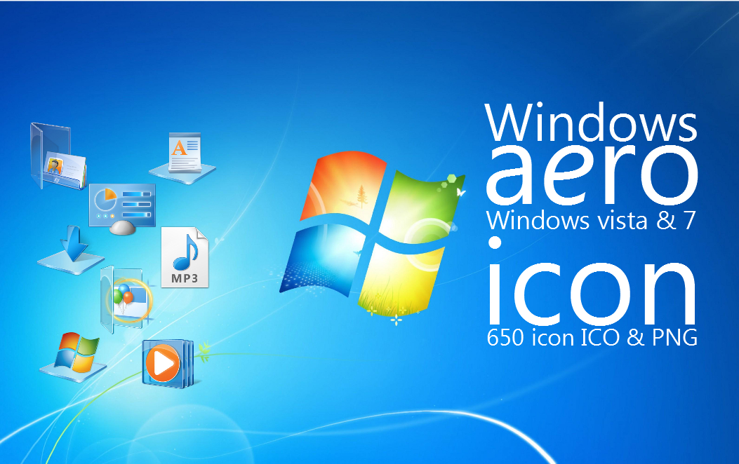15 Aero Windows 7 Icon Images