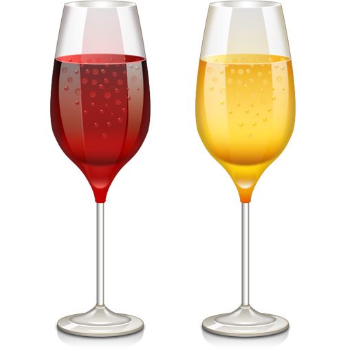 13 PSDs Wine Glass Images