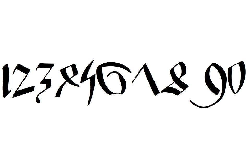 Wood-Type Font