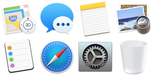 Yosemite Maps Icon OS X