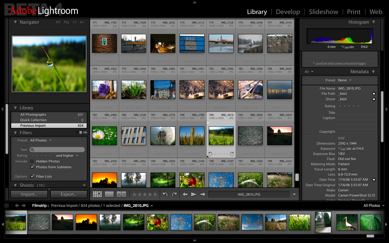 6 Adobe Photoshop Lightroom 3 Images