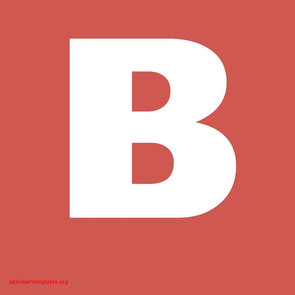 12 Letter B Template Images Printable Letter B Template