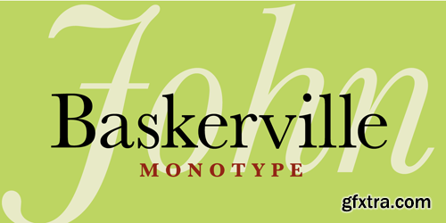 Baskerville Font Examples