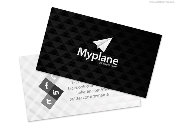12 PSD White Card Images
