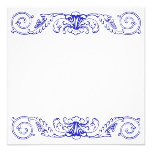 Pin Elegant-blue-certificate-border On Pinterest
