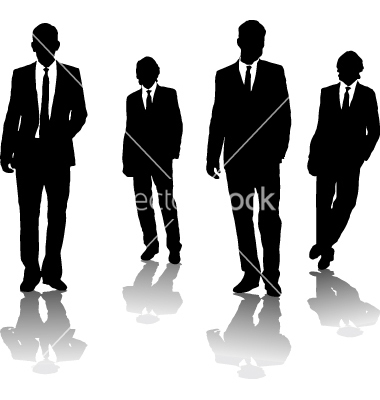 Business Men Vector Art