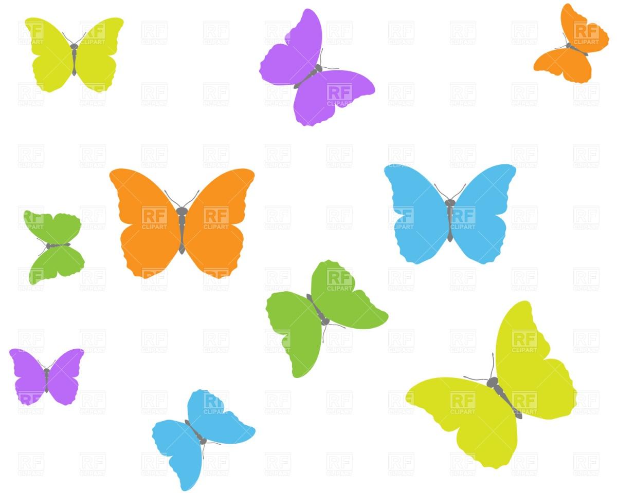Butterflies Clip Art Free Download
