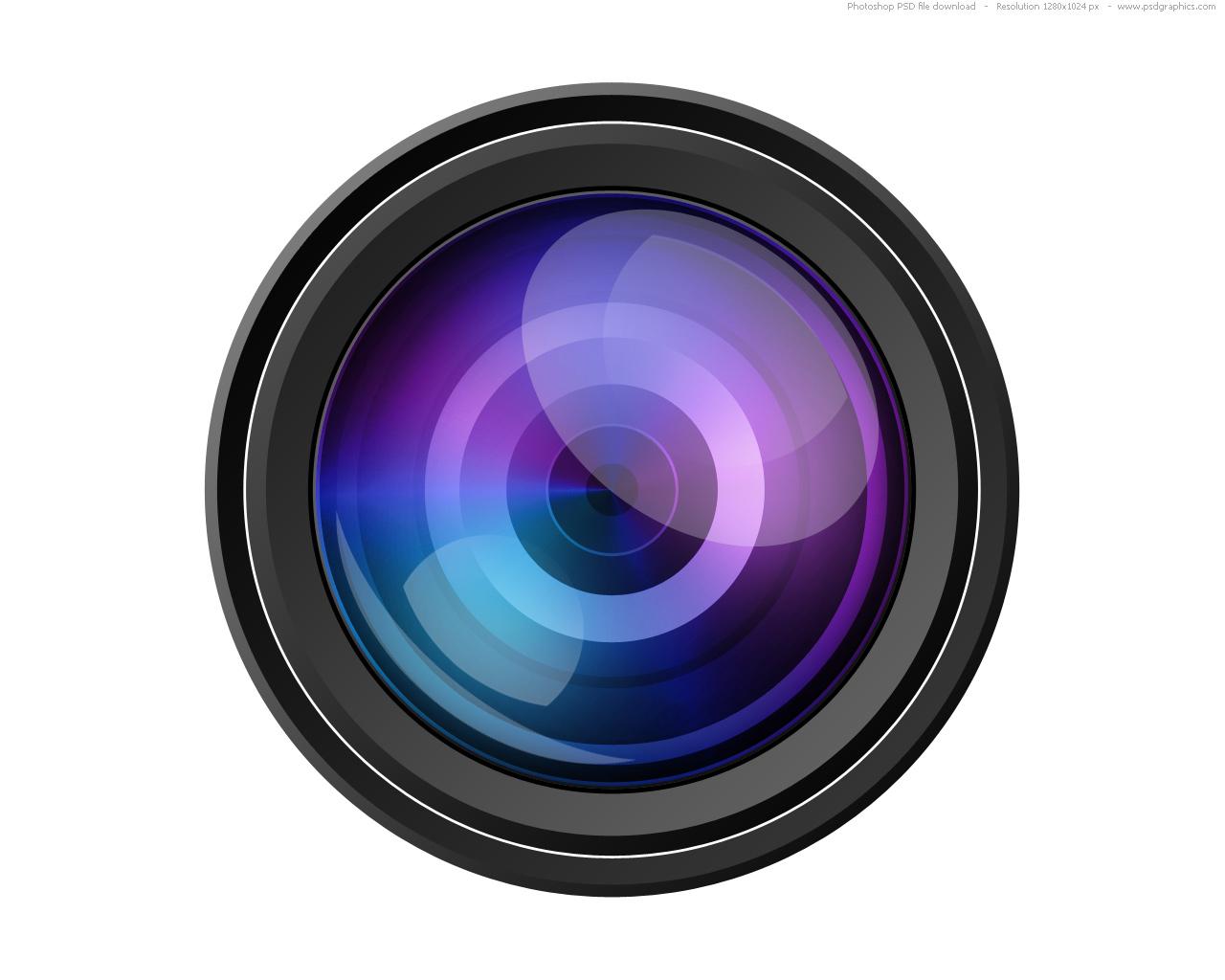 14 PSD Logo Camera Lens Images
