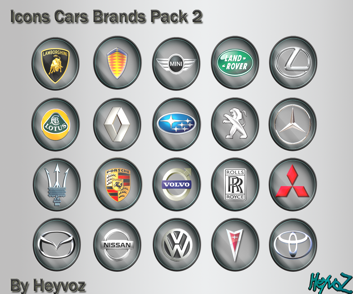 Car Brand Icons With Names